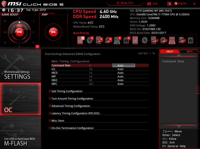 Test pamięci DDR4 Patriot Viper White LED 2400 MHZ CL 14 [9]