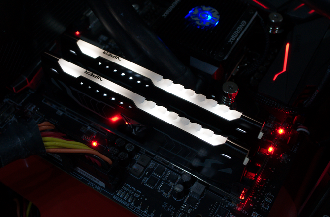 Test pamięci DDR4 Patriot Viper White LED 2400 MHZ CL 14 [10]