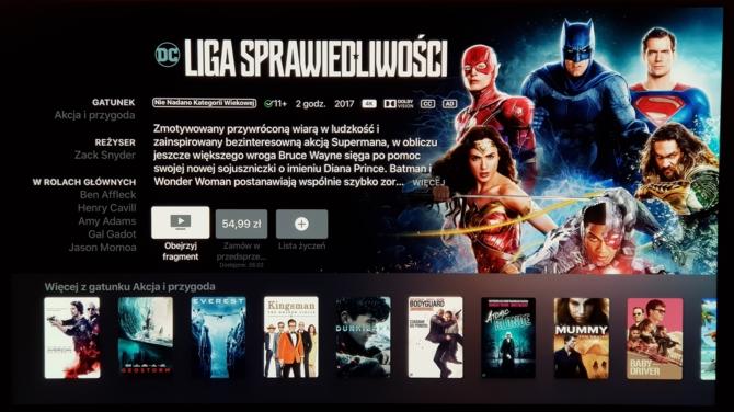 Apple TV 4K - przystawka pozwalająca oglądać filmy Ultra HD [5]