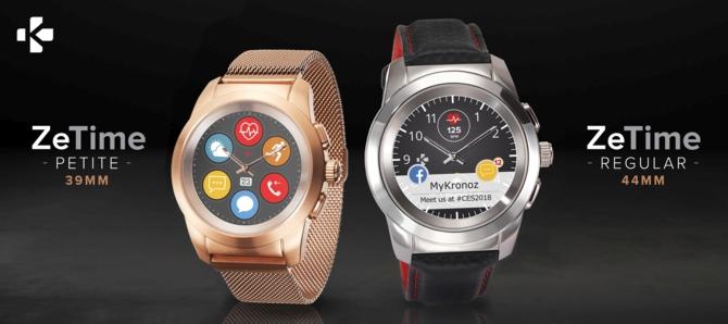 MyKronoz ZeTime: elegancka hybryda zegarka i smartwatcha [5]