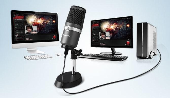 Wideo: Test AVerMedia AM310 - mikrofon dla streamera [1]