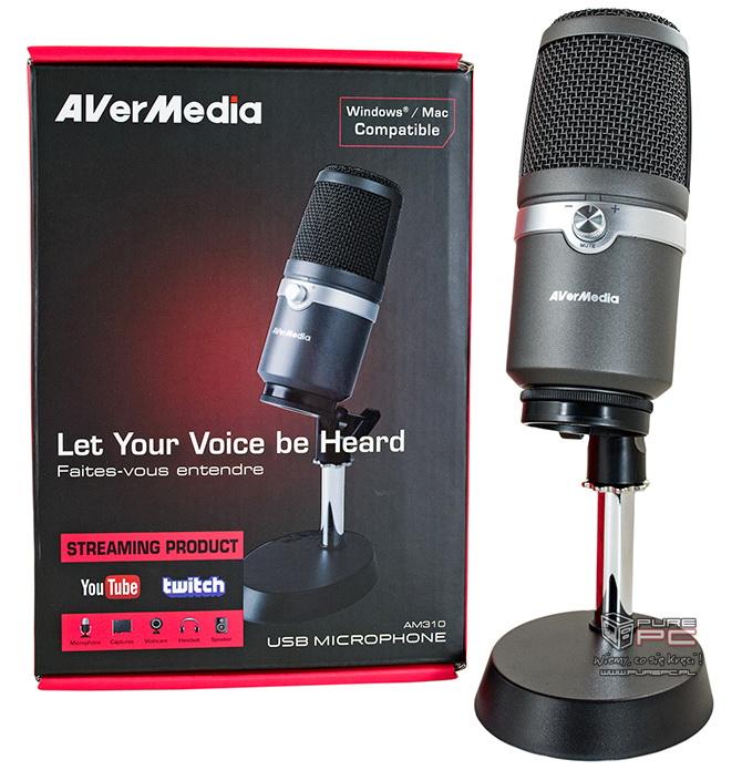 Wideo: Test AVerMedia AM310 - mikrofon dla streamera [nc1]