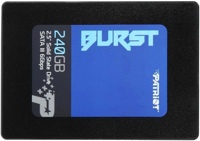 Patriot Burst 240GB Jeden z tańszych SSD dostępnych na rynku [1]