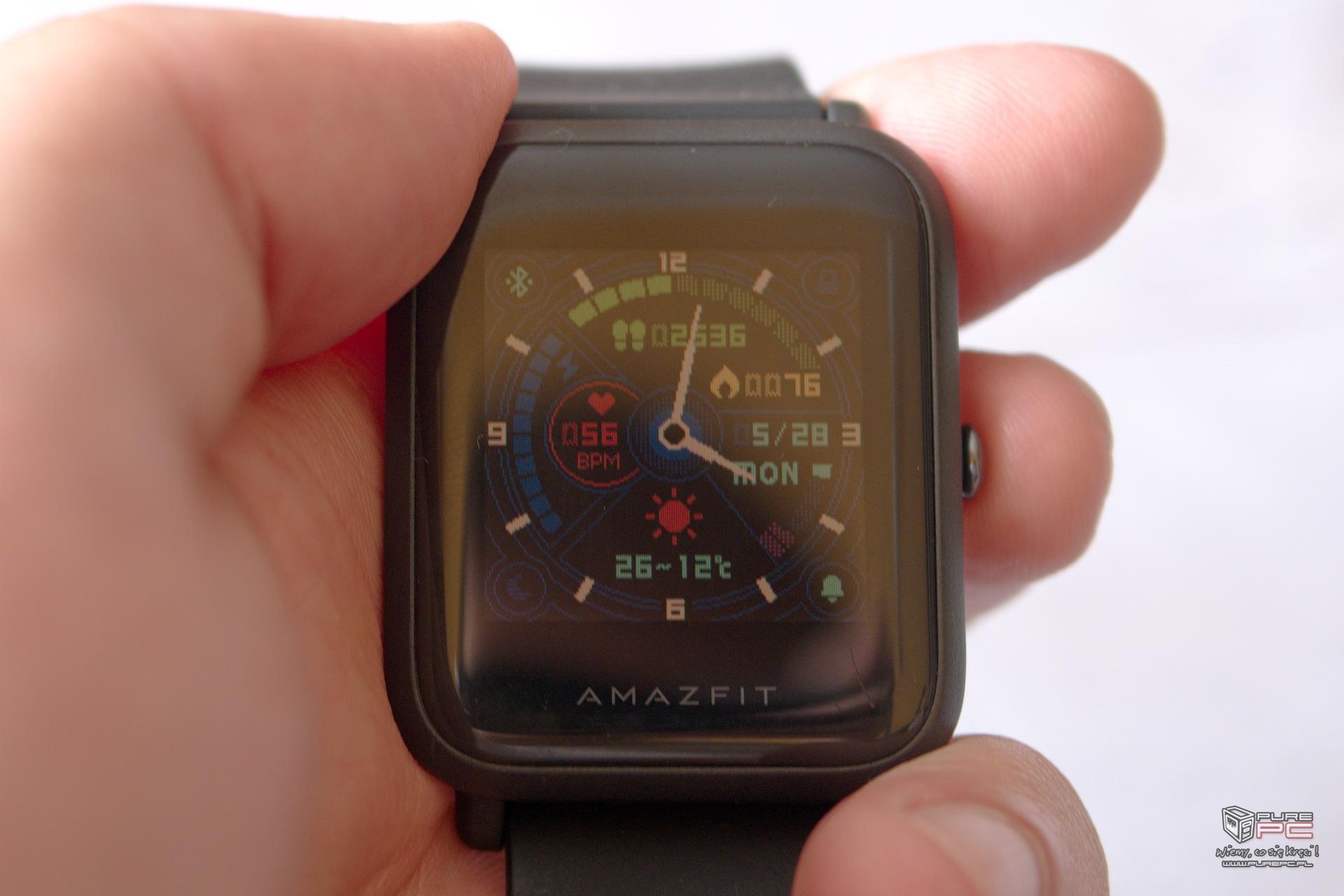 Xiaomi Amazfit Bip smartwatch kt³ry ma sens [nc3]