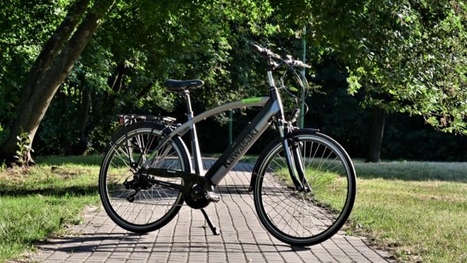 Wideo: Rower elektryczny Kawasaki - czy warto kupić e-bike? [7]