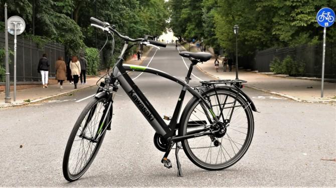 Wideo: Rower elektryczny Kawasaki - czy warto kupić e-bike? [8]
