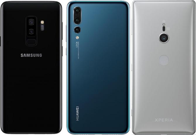 Porównujemy aparaty: Samsung S9+, Huawei P20 Pro i Sony XZ2 [1]