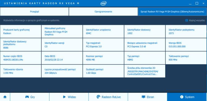 Radeon RX Vega M GH vs GeForce GTX 1050 Ti i GTX 1060 Max-Q [3]