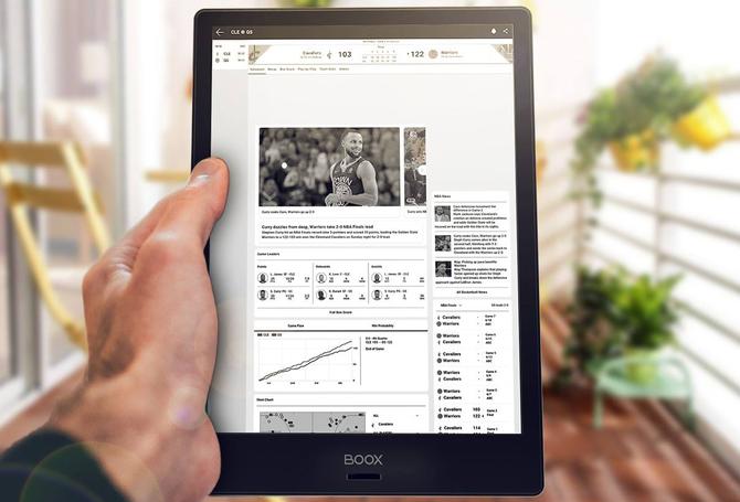 Test e-czytnika Onyx Boox Note S: Androidem i rozmiarem  mocny [1]