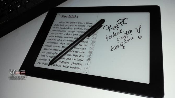 Test e-czytnika Onyx Boox Note S: Androidem i rozmiarem  mocny [15]