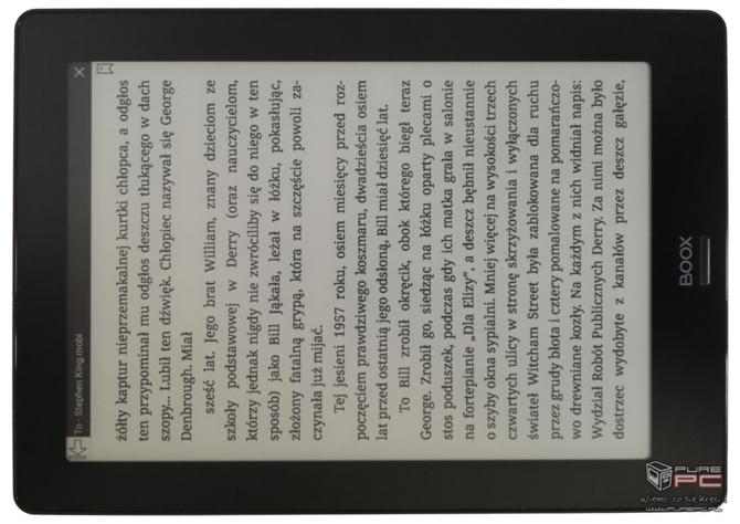 Test e-czytnika Onyx Boox Note S: Androidem i rozmiarem  mocny [4]