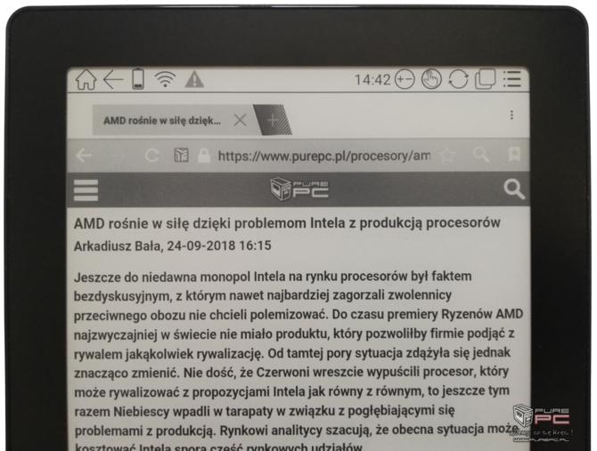 Test e-czytnika Onyx Boox Note S: Androidem i rozmiarem  mocny [8]