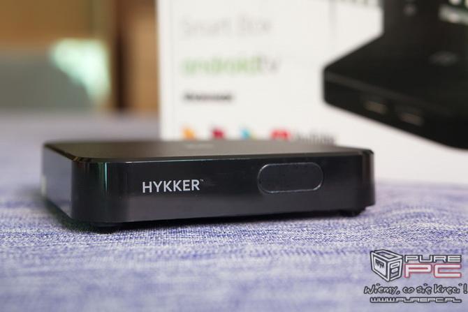Hykker Android TV Box - sprawdzamy przystawkę TV z Biedronki [nc1]