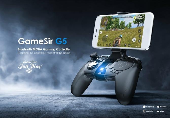 GameSir G5: Test pada do smartfona z BattleDock i touchpadem [1]