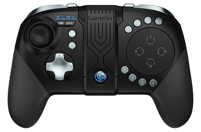 GameSir G5: Test pada do smartfona z BattleDock i touchpadem [11]