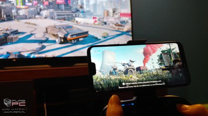 GameSir G5: Test pada do smartfona z BattleDock i touchpadem [16]