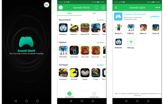GameSir G5: Test pada do smartfona z BattleDock i touchpadem [7]