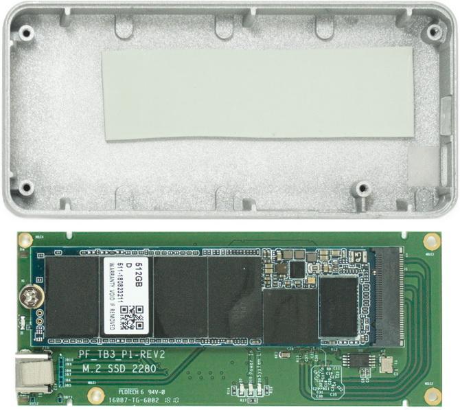 Test Patriot Evolver 512 GB - Przenośny SSD ze złączem Thunderbolt [nc4]