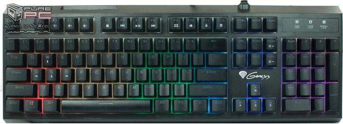 Test klawiatury Genesis Thor 200 RGB - Mechanik czy membrana? [nc9]