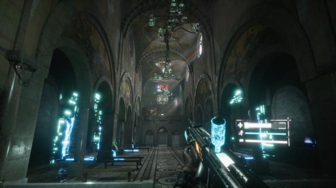 Recenzja gry 2084 - cyberpunkowy FPS w świecie Observera [20]