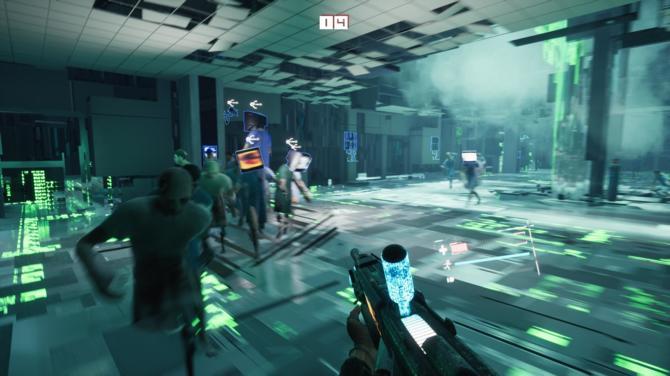 Recenzja gry 2084 - cyberpunkowy FPS w świecie Observera [10]