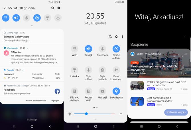 One UI - Samsung znalazł receptę na przerośnięte smartfony? [7]
