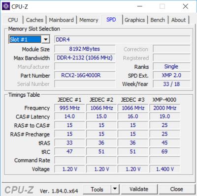 Test pamięci DDR4 Inno3D iChill Aura 4000 MHz CL19 [nc4]