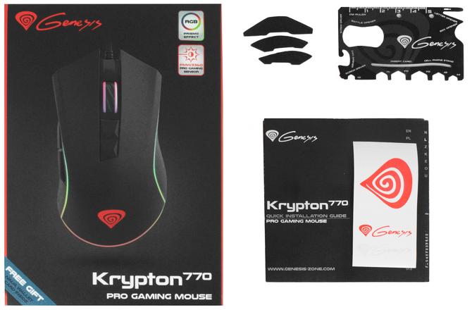 Test Genesis Krypton 770 - Niedroga myszka z sensorem PMW 3360 [nc19]