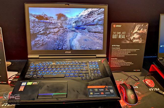 Laptopy MSI z NVIDIA RTX - jak prezentują się nowe notebooki? [nc1]