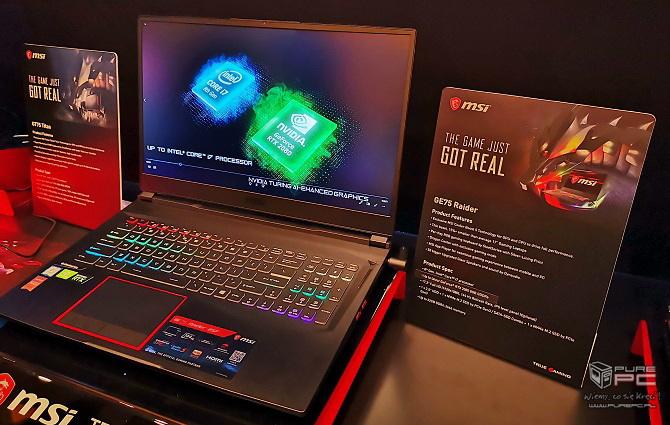 Laptopy MSI z NVIDIA RTX - jak prezentują się nowe notebooki? [nc15]