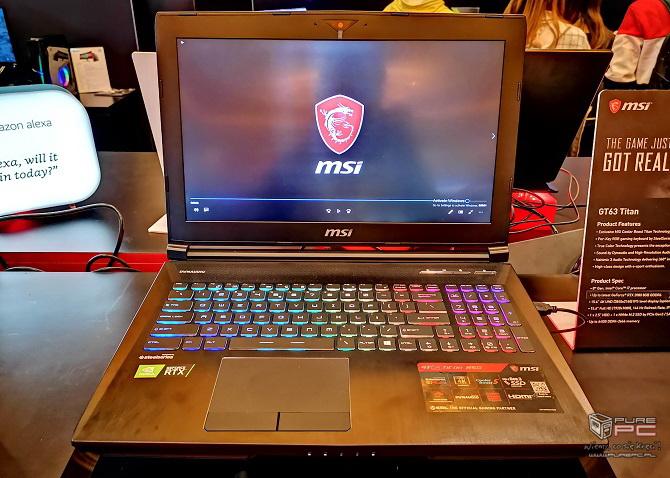 Laptopy MSI z NVIDIA RTX - jak prezentują się nowe notebooki? [nc6]