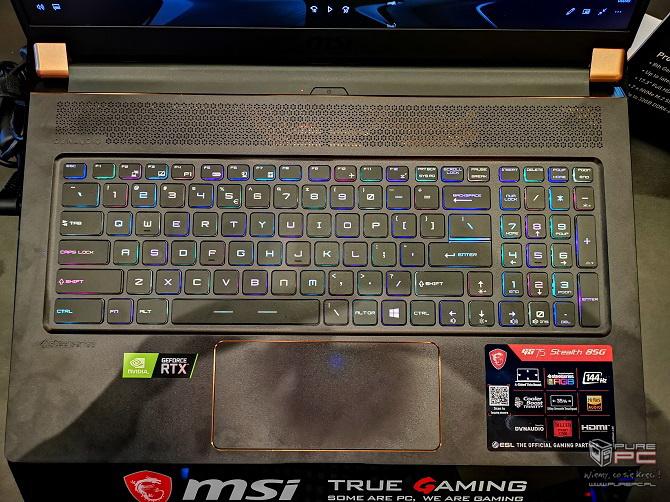 Laptopy MSI z NVIDIA RTX - jak prezentują się nowe notebooki? [nc10]