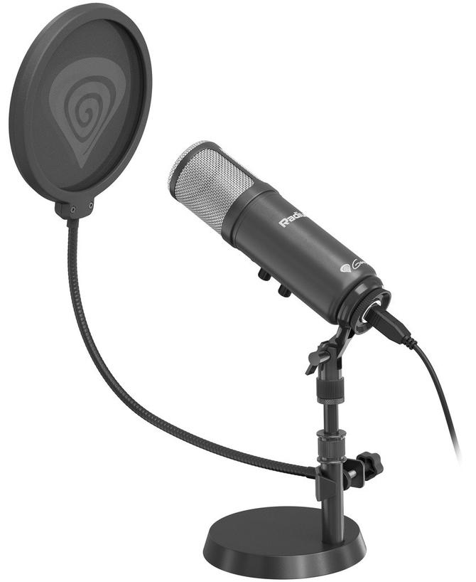 Test mikrofonu Genesis Radium 600 - domowe studio nagrań [1]