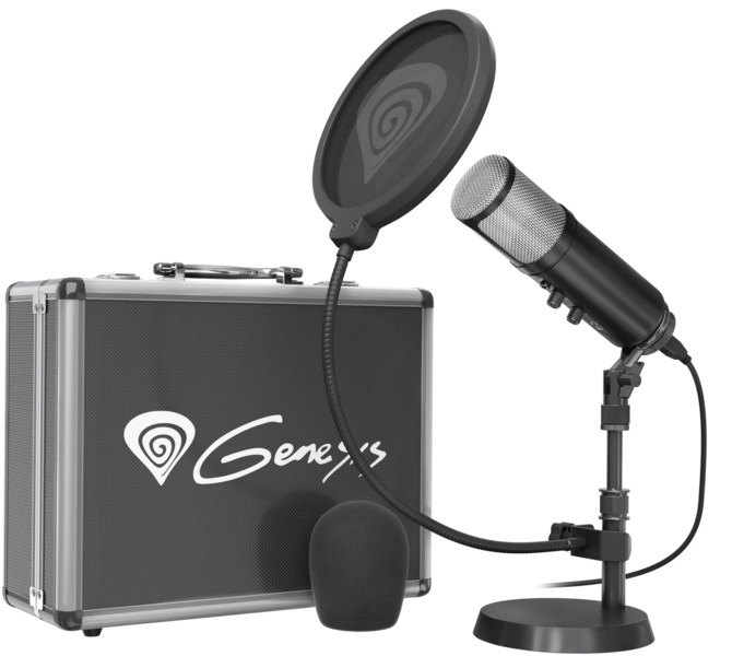 Test mikrofonu Genesis Radium 600 - domowe studio nagrań [5]