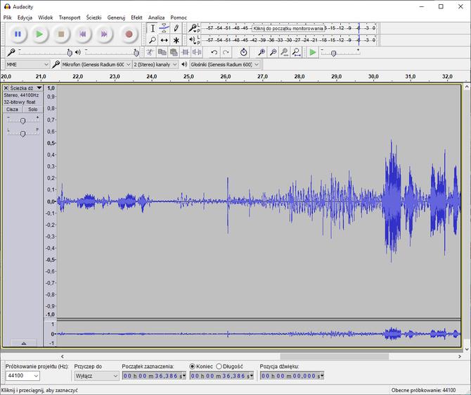 Test mikrofonu Genesis Radium 600 - domowe studio nagrań [7]