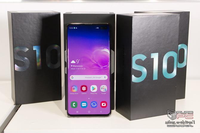 Samsung Galaxy S10 i S10+ - nowe flagowce już w naszych rękach! [nc1]