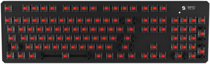 Test SPC Gear GK540 Magna Kailh Red RGB - po polsku i niedrogo [15]