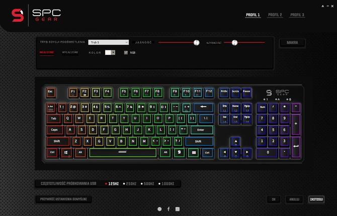 Test SPC Gear GK540 Magna Kailh Red RGB - po polsku i niedrogo [17]