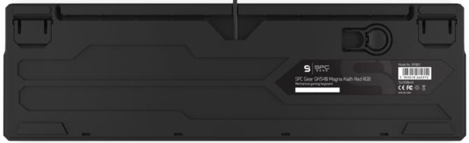 Test SPC Gear GK540 Magna Kailh Red RGB - po polsku i niedrogo [7]