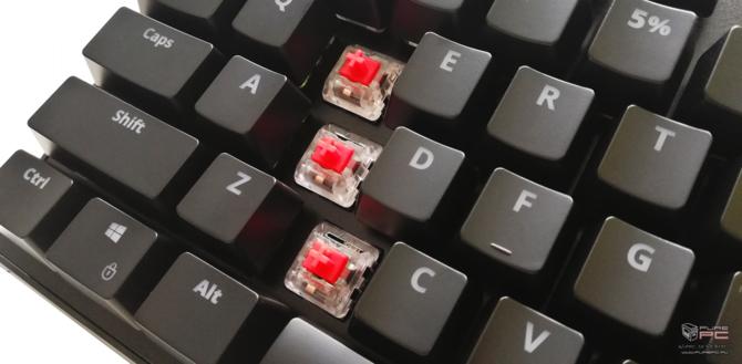 Test SPC Gear GK540 Magna Kailh Red RGB - po polsku i niedrogo [10]