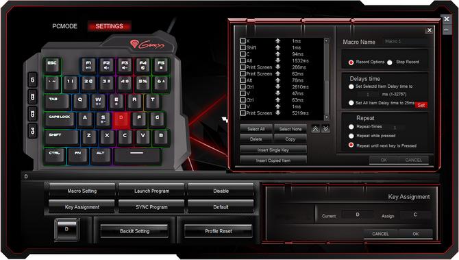 Test Genesis Thor 100 RGB - Miniaturowa klawiatura czyli keypad [7]