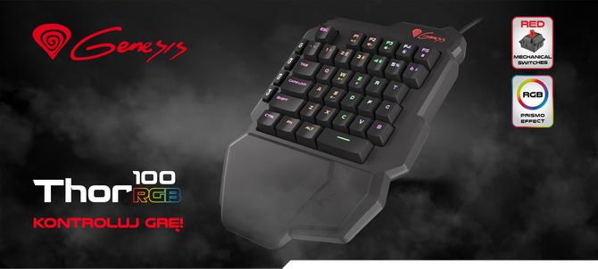 Test Genesis Thor 100 RGB - Miniaturowa klawiatura czyli keypad [9]