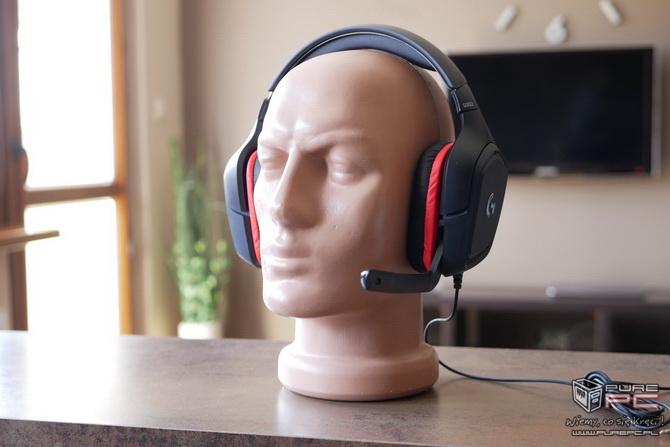 Logitech G332 - słuchawki dla mniej wymagających graczy [nc1]
