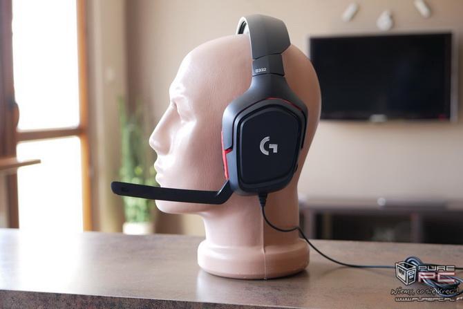 Logitech G332 - słuchawki dla mniej wymagających graczy [nc2]