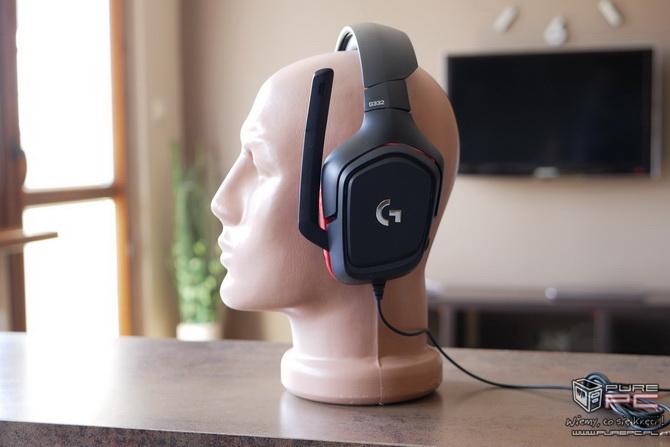 Logitech G332 - słuchawki dla mniej wymagających graczy [nc3]