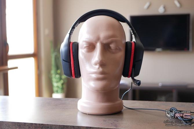 Logitech G332 - słuchawki dla mniej wymagających graczy [nc4]