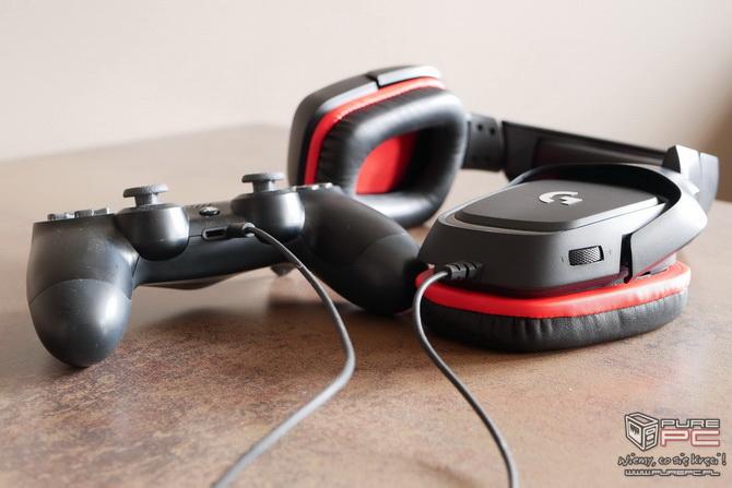 Logitech G332 - słuchawki dla mniej wymagających graczy [nc7]