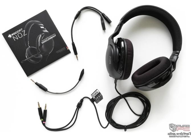Test Roccat NOZ: Ultralekki headset dla graczy bez cienia tęczy [5]