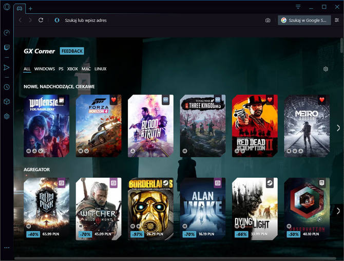 Opera GX - Test pierwszej przeglądarki internetowej dla graczy [1]
