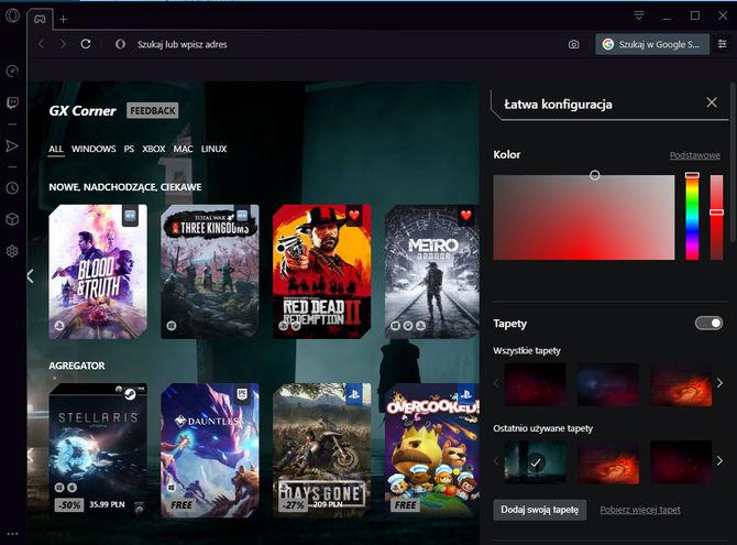 Opera GX - Test pierwszej przeglądarki internetowej dla graczy [3]